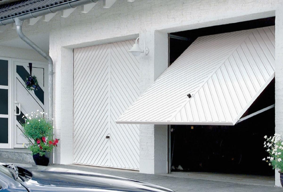 automazione basculante garage
